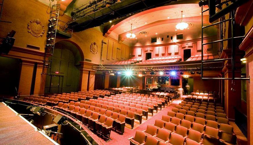 Montgomery Theater San Jose Seating